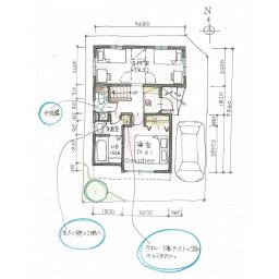 キッチン横に洗濯機、2階で家事完結の家