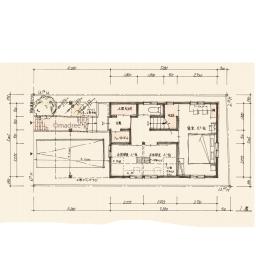 2階リビング吹抜とロフトがある、狭小地3階建の家